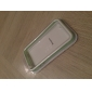 Stylish Protective Bumper Infinite Loop Frame Case for iPhone 4 (White-Translucent Green)