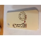 Case Modèle Girafe et lion dur pour iPhone 4 et 4S