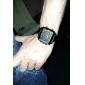 dos homens weide® pu analógico - Relógio de pulso multi-movimento digital (preto)