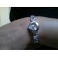 Femme Montre Tendance Quartz Alliage Bande bracelet Noir / Blanc / Bleu / Rose