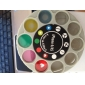 Novelty 9-Filter Lens Combo with Back Case for iPhone 4 and 4S (Assorted Colors)