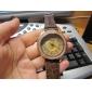 Femmes de conception Shinning PU montre-bracelet à quartz analogique Mode (couleurs assorties)