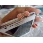 Fashionable Anti-dust Earphone Jack for iPhone and iPad (Assorted Colors)