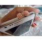 Модная противопыльная заглушка для iPhone и iPad (разные цвета)