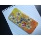 아름다운 나비와 아이폰 5/5S를위한 꽃 본 단단한 케이스
