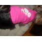 Lovely Lolipop Pattern Vest for Dogs (Rose,XS-L)