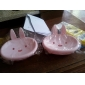Cute Cartoon Rabbit Soap Box(Random Colors)