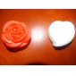 Charming Rose Shaped Red Night Light (3xAG13)