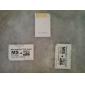 dubbla microSD / HC till MS PRO DUO minneskort adapter (vit)
