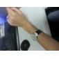 les femmes fashional femmes en cuir aanlog montre-bracelet à quartz (couleurs assorties)