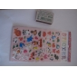 Cartoon Animals Series Stereo Bubble Sticker