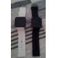 Coppia di orologi LED, sportivi, cinturino in silicone - Nero e Bianco
