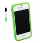 Stylish TPU Bumper Frame for iPhone 4/4S (Assorted Colors)
