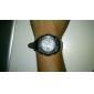 שעון יוניסקס פונקציות מרובות סיליקון דיגיטלי אנלוגי- שחור