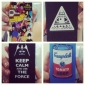 Case Dura para iPhone 4/4S - Keep Calm and Use The Force