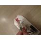 아이폰5용 클리닝 옷감이 있는 투명한 클리어 액정보호기 (20개/팩, 5개 클리닝 옷감)