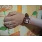 Femmes poignet style PU Montre à quartz analogique (couleurs assorties)