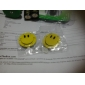 Flashing LED Smiling Face Badge