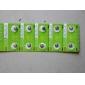 AG4 1.55V 377a baterii de mare capacitate alcaline butonul de celule (10-Pack)