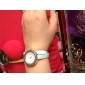 Women's Fashionable PU Leather Style Analog Quartz Bracelet Watch with Long Band (Assorted Colors)