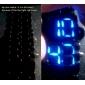 Cobra Edition sininen LED tauluton urheilukello  (musta)