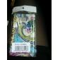 caso dos desenhos animados padrão de proteção para Samsung i9100 (multicolor)
