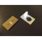 jaune en forme de bulbe de conception de la nouveauté de la carte de crédit a mené la lumière (1xcr1216)