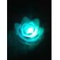 ไฟกลางคืน LED รูปดอกบัว (3xAG13)