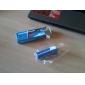 Mini-LCD-Taschenlampe Stil digitale Projektion Schlüsselbund Uhr random Schiff