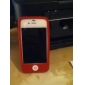 Protective Silicone Case for iPhone 4 (Red)