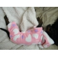 Lovely Heart Pattern Downy Coat with Hoodie for Dog (S-L)