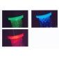 Stylowe podświetlenie LED baterii łazienkowej zasilane wodą (plastik, chrom)