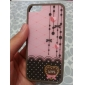Exquisite Design Heart-Shaped Pattern 2 in 1 Bumper and Back Case for iPhone 5/5S