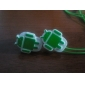 Android Robot Design In-Ear Earphones (Assorted Colors)