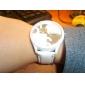 Men's and Women's Casual PU Analog Quartz Wrist Watch (Assorted Colors)