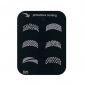 Wave Pattern Style Nail Art Stamping Image Template Plate