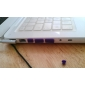 Silicone Anti Dust Plug Cover for Apple MacBook Air Pro (Random Color)
