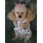 cereza del vestido del algodón de diseño para perros (XS-L)