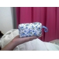 Floral Pattern Zipper Change Purse(Random Color)
