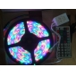 Waterproof 5M 300x3528 SMD RGB Light LED Strip Lamp with 44-Button Remote Controller Set (12V)