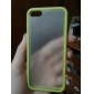 Two-tone Frosted Design TPU Hard Case for iPhone 5/5S (Assorted Colors)
