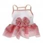 Dog Dress Pink Summer Polka Dots Wedding