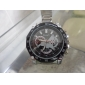 Masculino Relógio Militar Relógio de Pulso Quartzo Lega Banda Prata Branco Preto