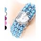 Kvinder Pearl Style Plastic Analog Quartz Bracelet Watch (Assorterede farver)