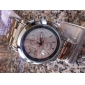 Men's Watch Casual Hollow Engraving Alloy Band