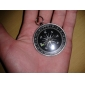 Portable Metal Compass with Keychain(Large)