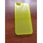 Мягкий полупрозрачный чехол для iPhone 5 (разные цвета)