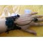 Lureme®Vintage Flower Lace Bracelets