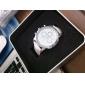 Relógio de Pulso Feminino Estilo Casual Com Pulseira em Couro PU (Cores Sortidas)