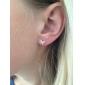 diamant papillon lureme®delicate cloutés boucles d'oreille